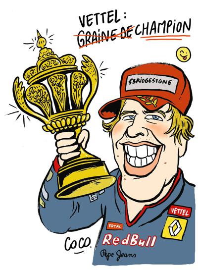 Vettel champion !